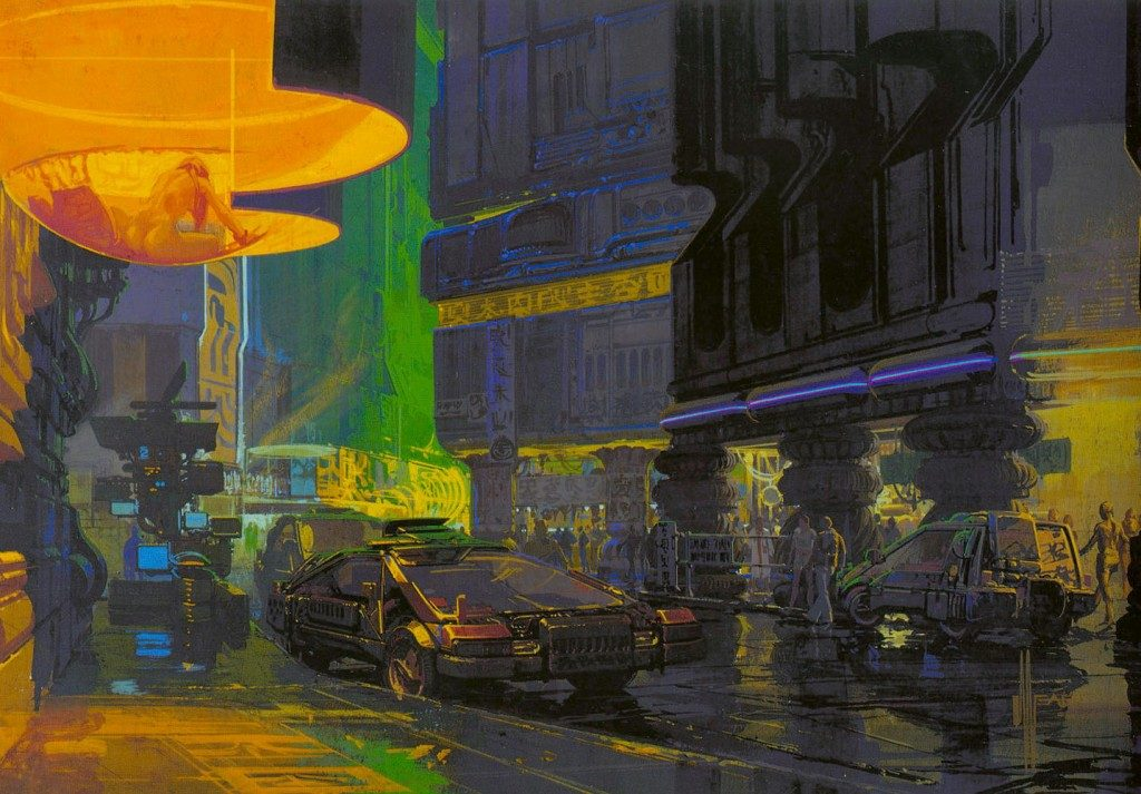 Syd Mead - Legendary sci-fi artist Syd-me42