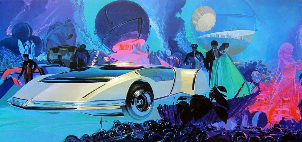 Syd Mead - Legendary sci-fi artist Syd-me44