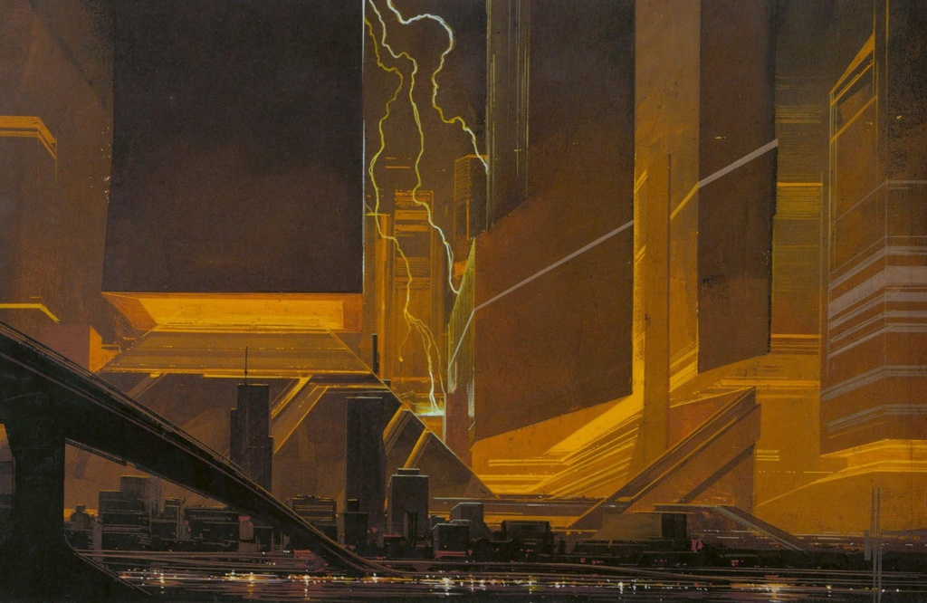Syd Mead - Legendary sci-fi artist Syd-me45