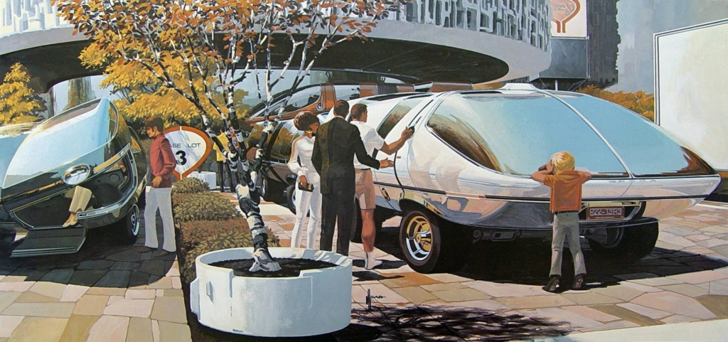 Syd Mead - Legendary sci-fi artist Syd-me50