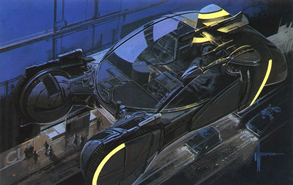 Syd Mead - Legendary sci-fi artist Syd-me51