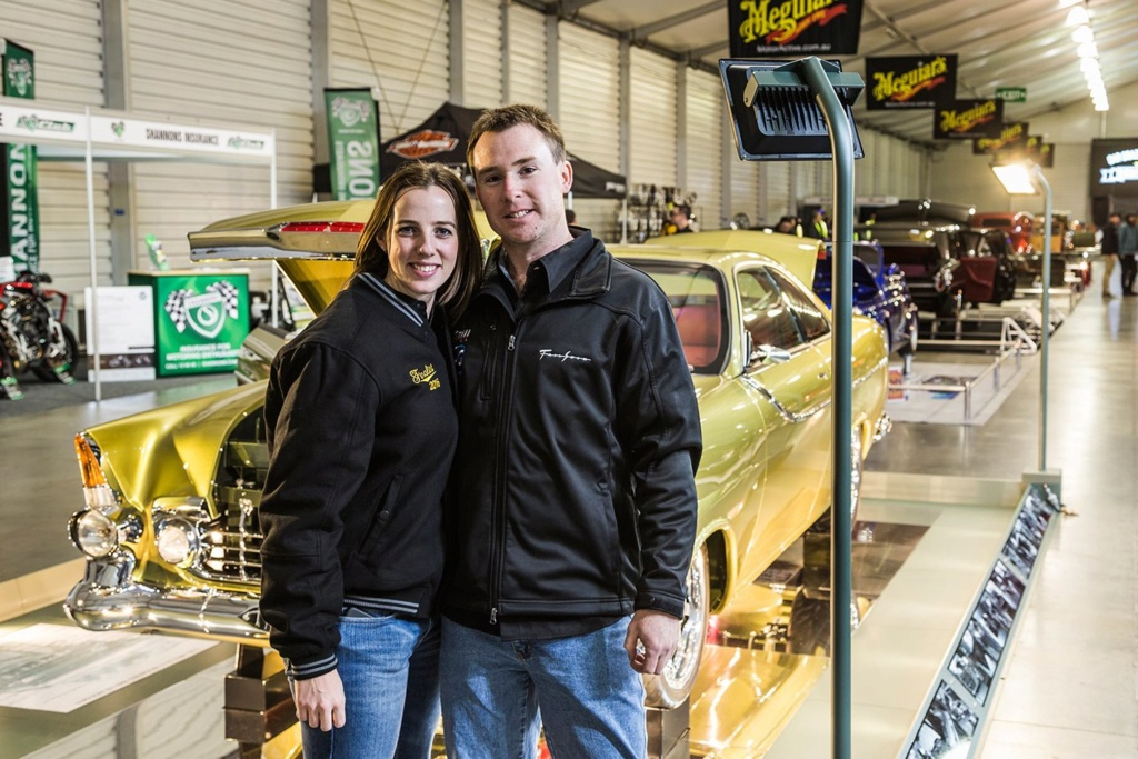 Holden Tailspin - Adam and Kylie Perry - Howard Astill. Tailsp32