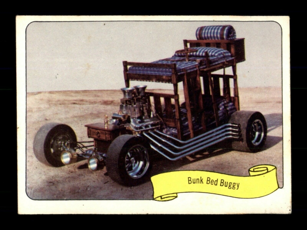1974 Fleer Kustom cars series  - Trading cards - Hot rods, show cars, Custom cars Tc10