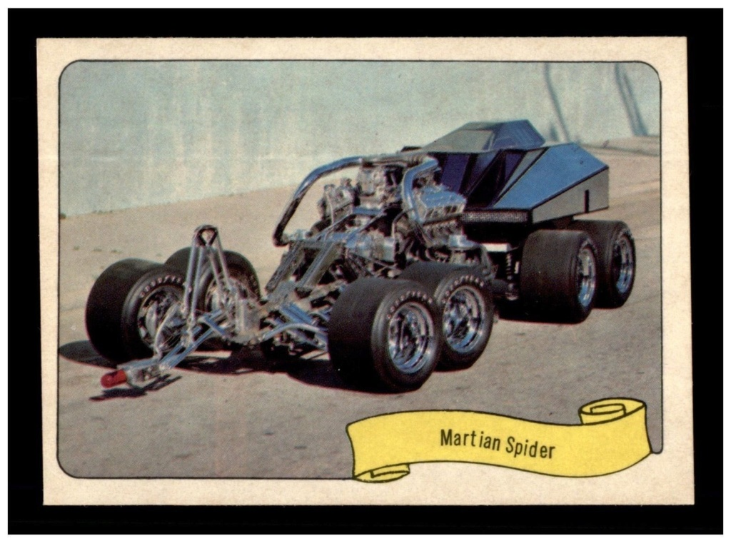 1974 Fleer Kustom cars series  - Trading cards - Hot rods, show cars, Custom cars Tc11