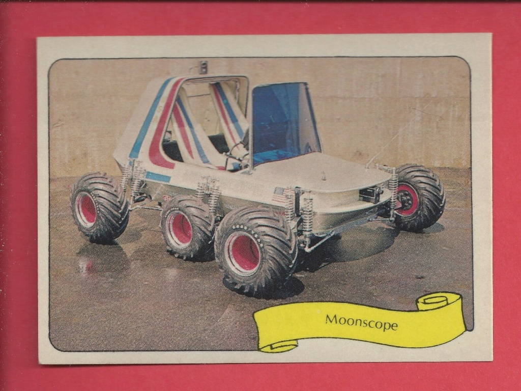 1974 Fleer Kustom cars series  - Trading cards - Hot rods, show cars, Custom cars Tc12
