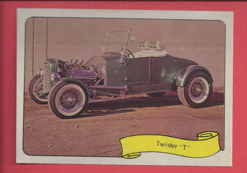 1974 Fleer Kustom cars series  - Trading cards - Hot rods, show cars, Custom cars Tc13