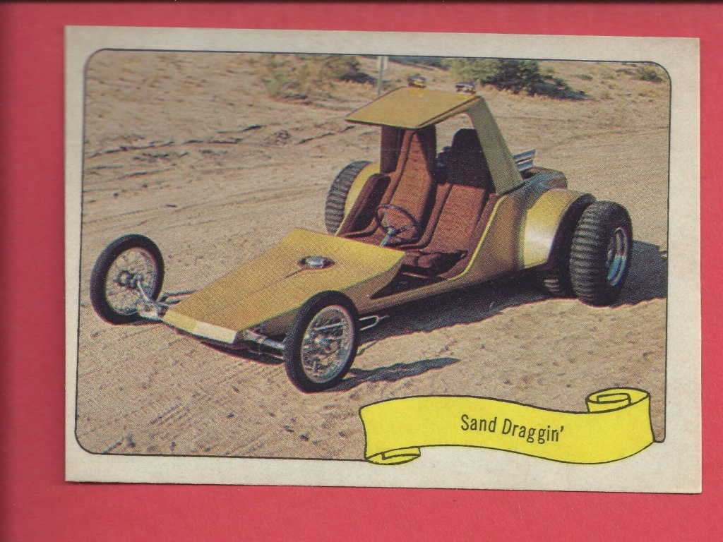 1974 Fleer Kustom cars series  - Trading cards - Hot rods, show cars, Custom cars Tc14