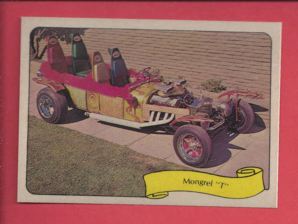 1974 Fleer Kustom cars series  - Trading cards - Hot rods, show cars, Custom cars Tc15