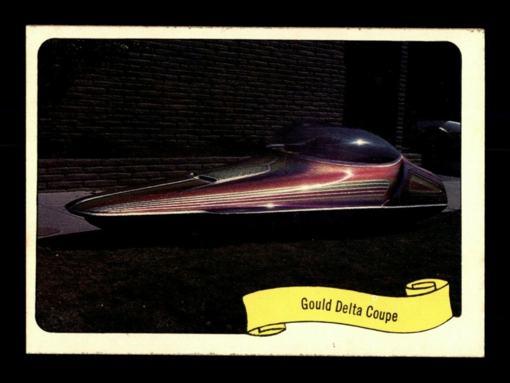 1974 Fleer Kustom cars series  - Trading cards - Hot rods, show cars, Custom cars Tc20