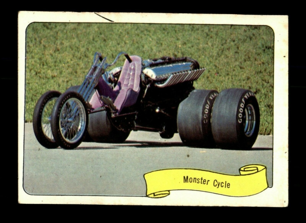 1974 Fleer Kustom cars series  - Trading cards - Hot rods, show cars, Custom cars Tc22