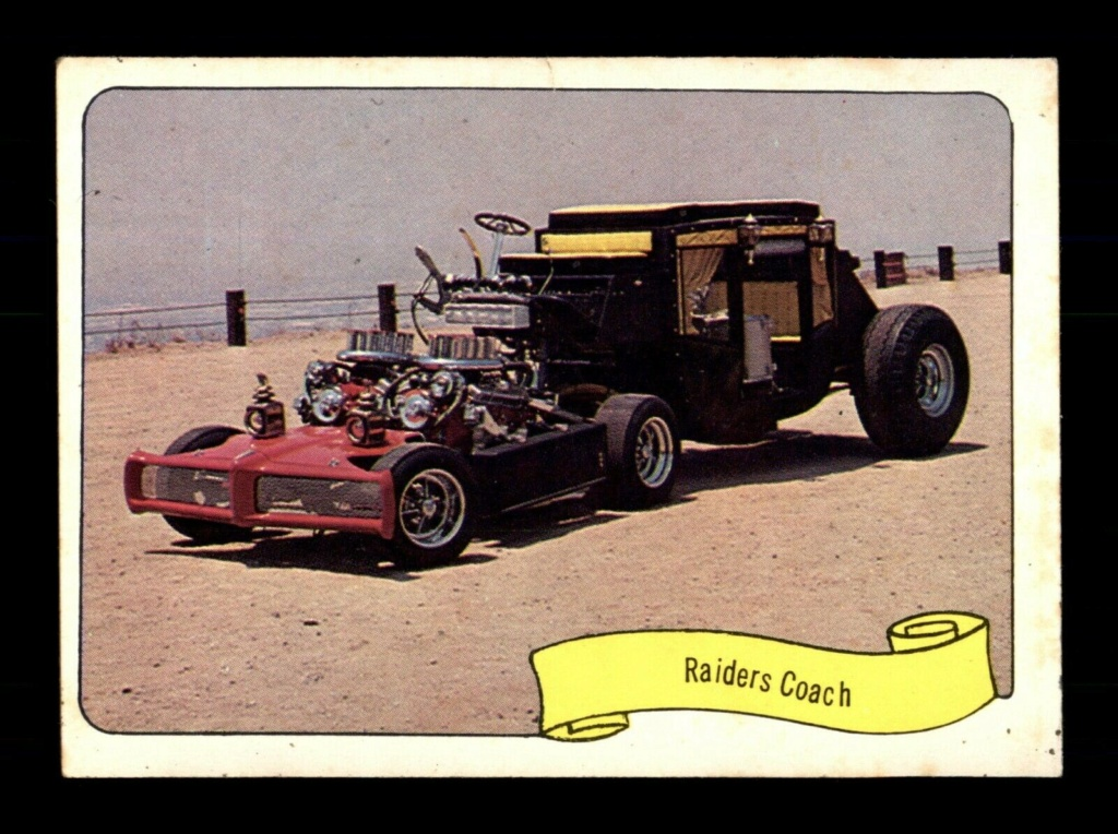1974 Fleer Kustom cars series  - Trading cards - Hot rods, show cars, Custom cars Tc23