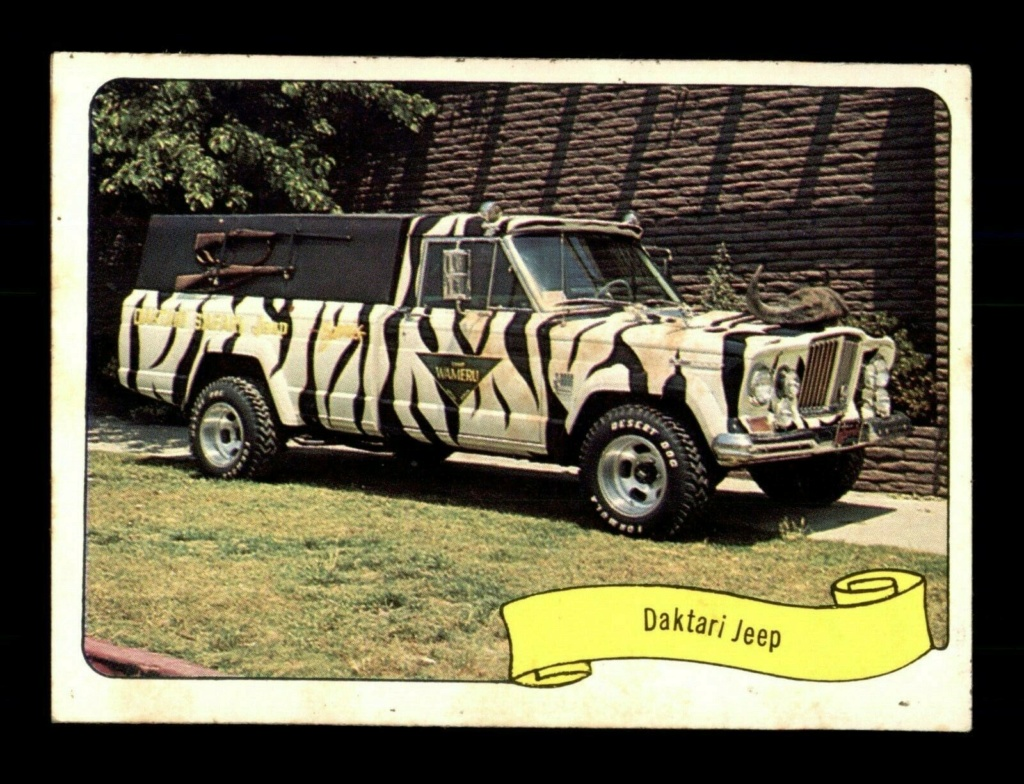 1974 Fleer Kustom cars series  - Trading cards - Hot rods, show cars, Custom cars Tc24