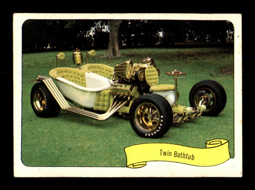 1974 Fleer Kustom cars series  - Trading cards - Hot rods, show cars, Custom cars Tc25