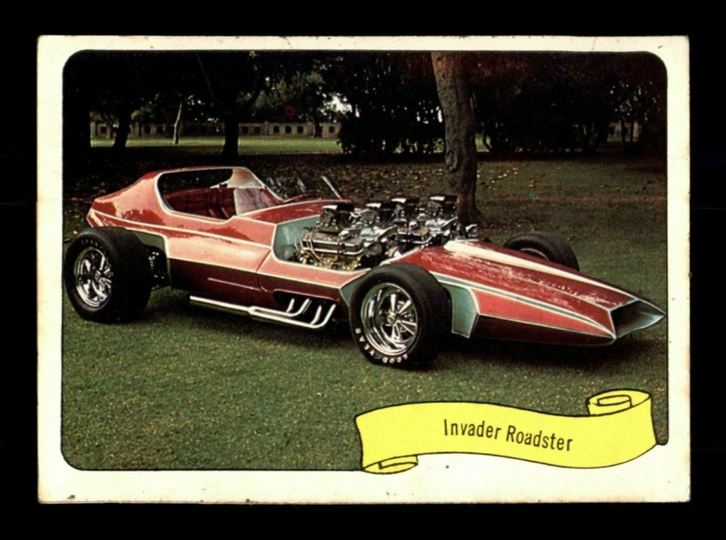 1974 Fleer Kustom cars series  - Trading cards - Hot rods, show cars, Custom cars Tc26