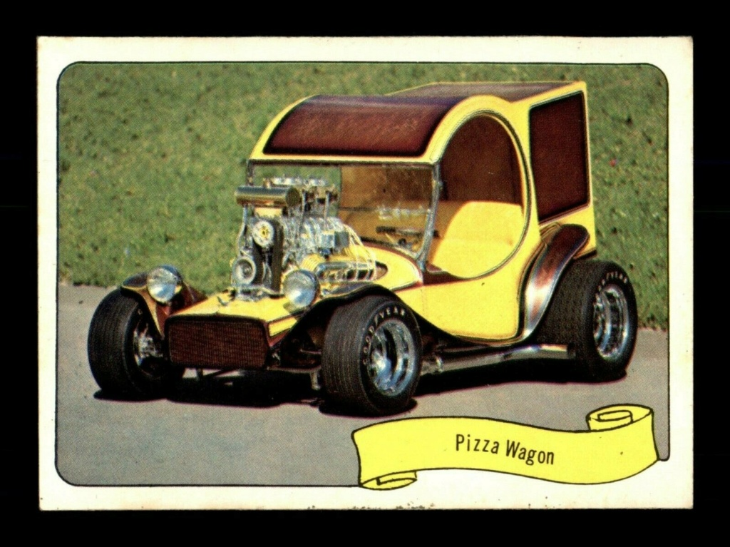 1974 Fleer Kustom cars series  - Trading cards - Hot rods, show cars, Custom cars Tc27