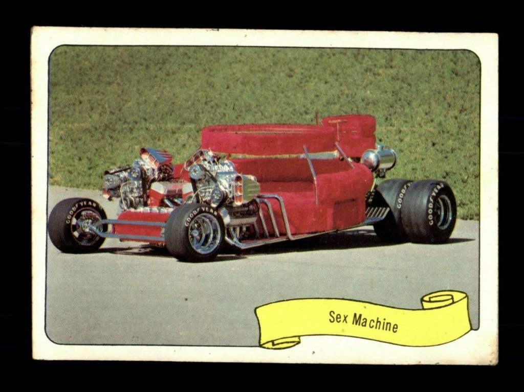 1974 Fleer Kustom cars series  - Trading cards - Hot rods, show cars, Custom cars Tc28