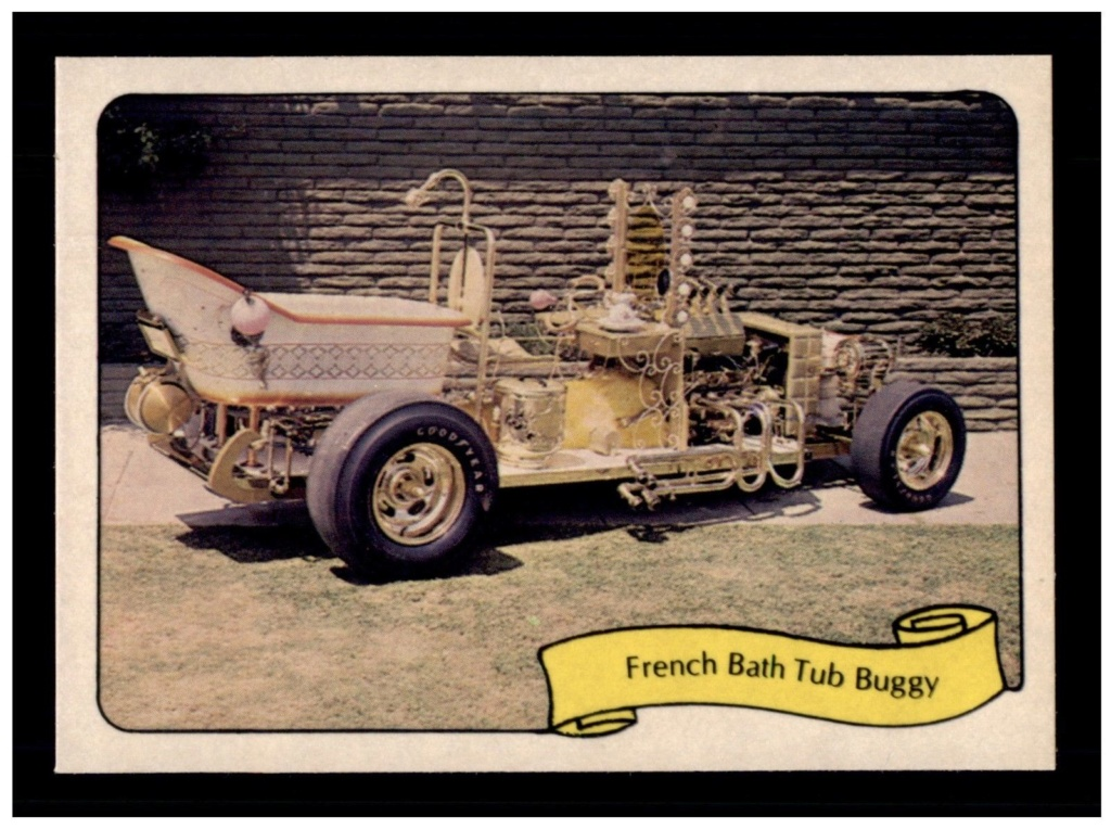 1974 Fleer Kustom cars series  - Trading cards - Hot rods, show cars, Custom cars Tc31
