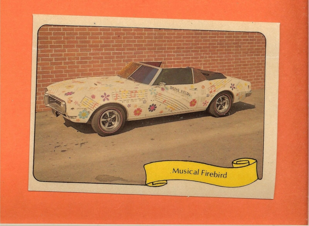 1974 Fleer Kustom cars series  - Trading cards - Hot rods, show cars, Custom cars Tc32