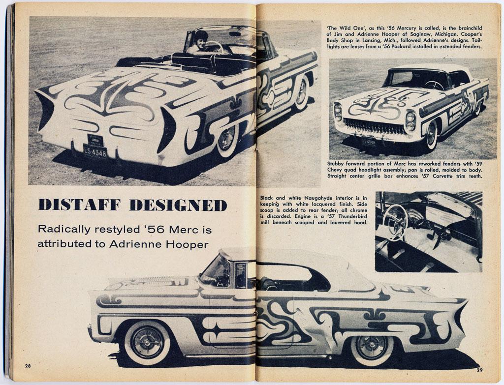 1956 Mercury - Adrienne Hooper - Larry Cooper - Cooper Body Shop  The-wi10