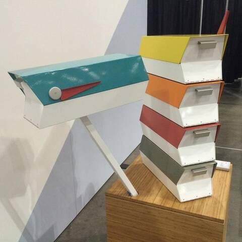 Modbox Mid Century Modern Mailboxes By Greg Kelly