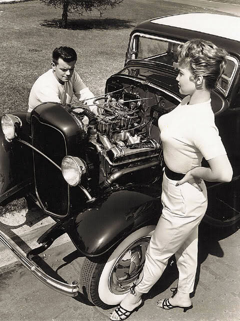 hot rod, custom and classic car babes - Page 6 Tumblr10