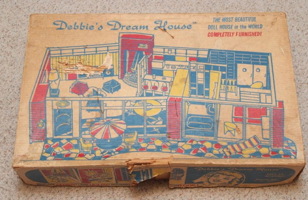 Debbie's Dream House - plastic mid-century mod showplace from Marx Toys - 1963 Tumblr11
