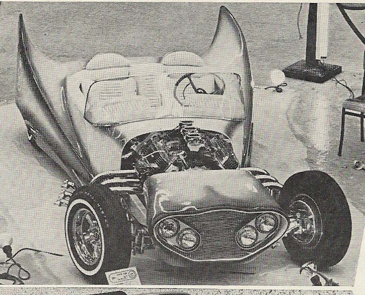 John Burnes, The Manta Ray - 32 Ford radical show rod Bat - Toronto, Ont. Car Craft, Jul 1963 Tumblr44
