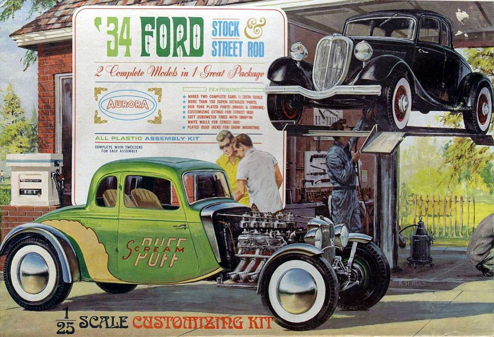 1934 Ford Coupe - Street Rod - Aurora - 1/25 Untitl10