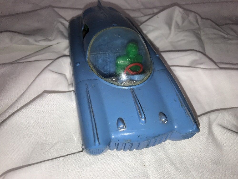 Vintage Concept Futuristic Streamline Marx Plastic Friction Vc210