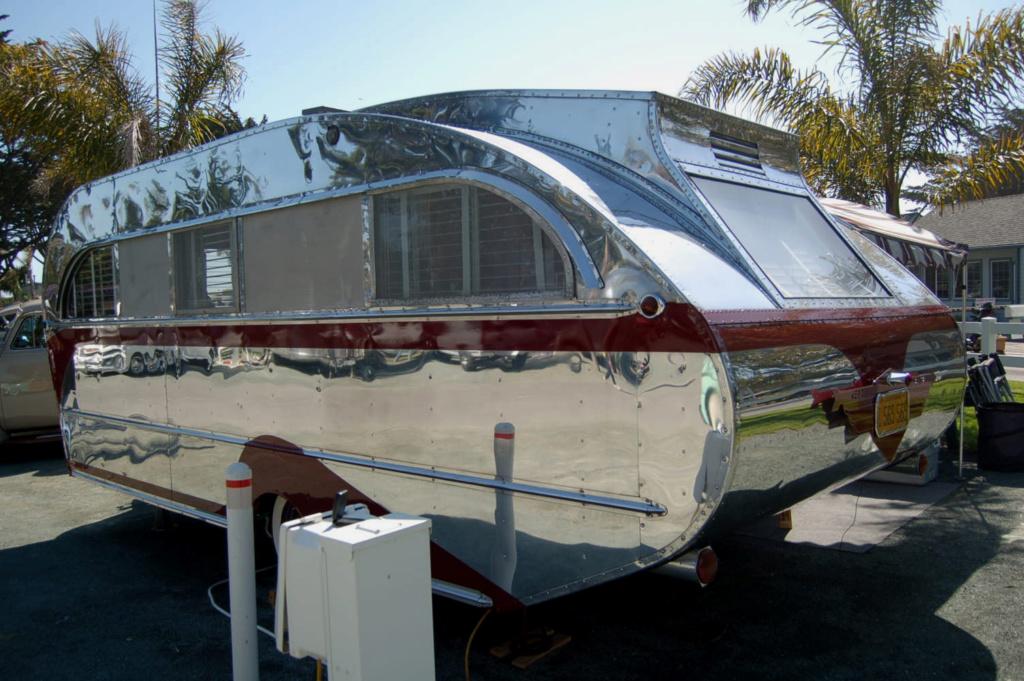 Aeroflite trailer Vintag20