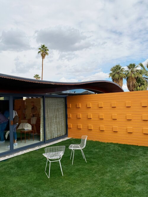 Wave house, Palm Spring. Walter S White 1955 Waveho10