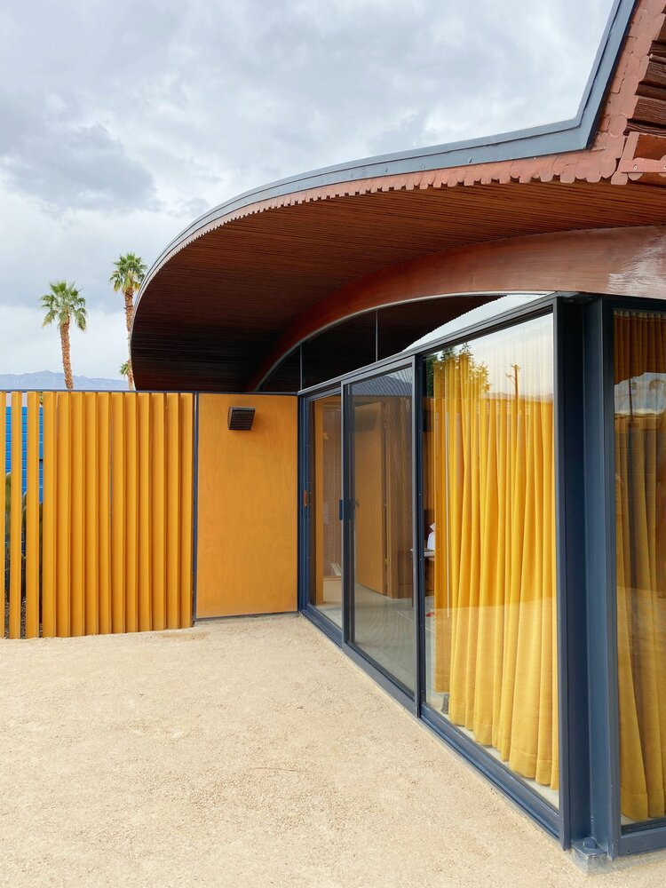 Wave house, Palm Spring. Walter S White 1955 Waveho11
