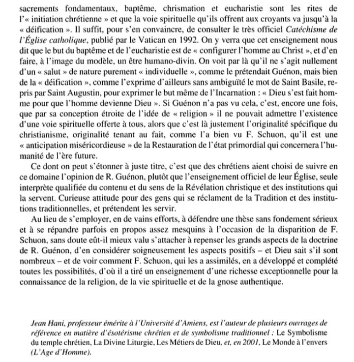 Ésotérisme et christianisme. Histoire et enjeux théologiques d'une expatriation - Jérôme Rousse-Lacordaire - Page 3 Scree104