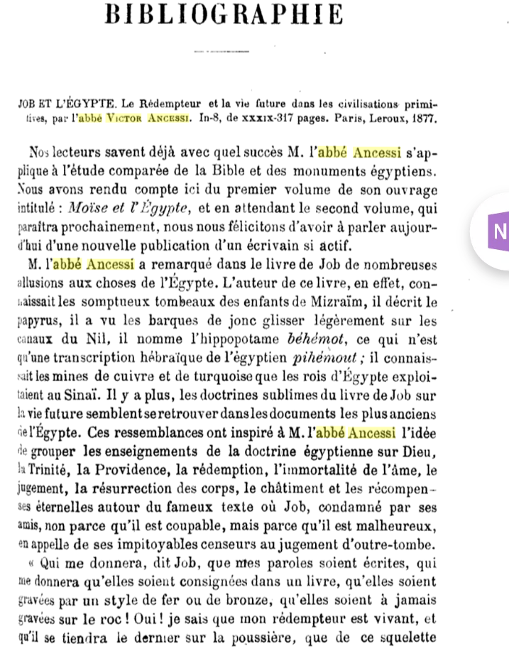 "La religion de l'Egypte antique : ""comme un christianisme enfantin"" Scree130"