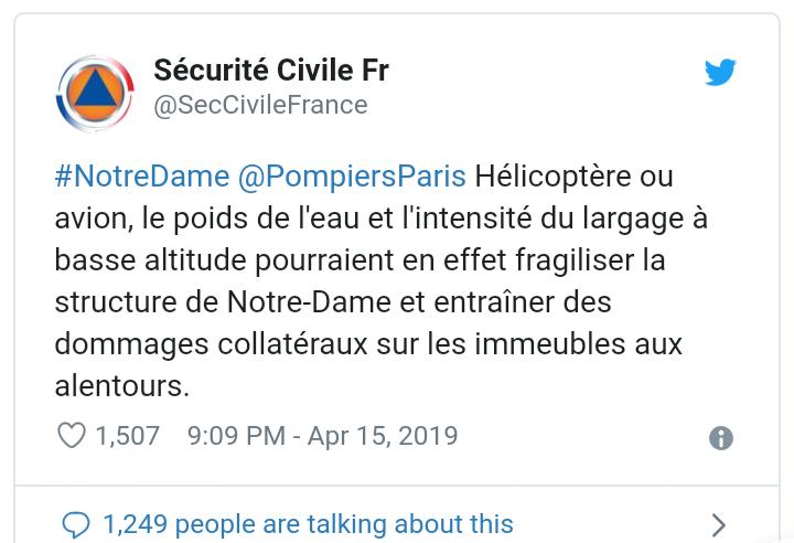 Incendie à Notre Dame de Paris ! Scree156
