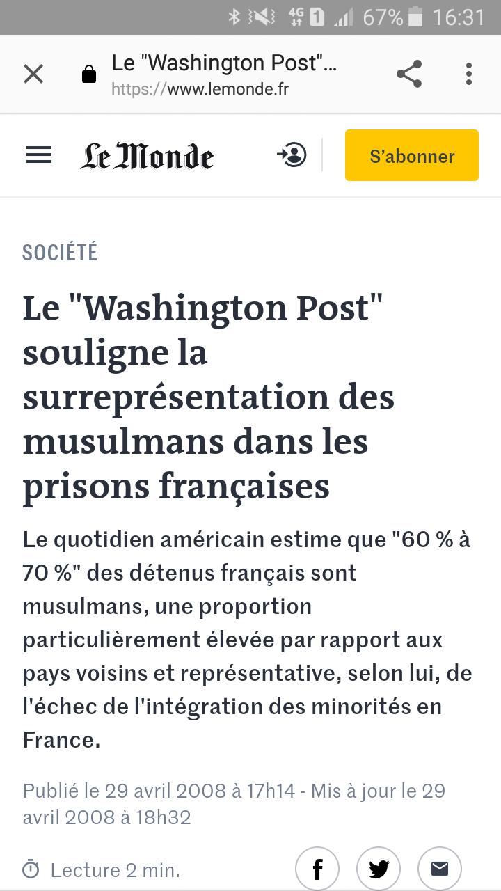 Immigration massive - quelles conséquences pour la France et l'Europe  ? Scree243
