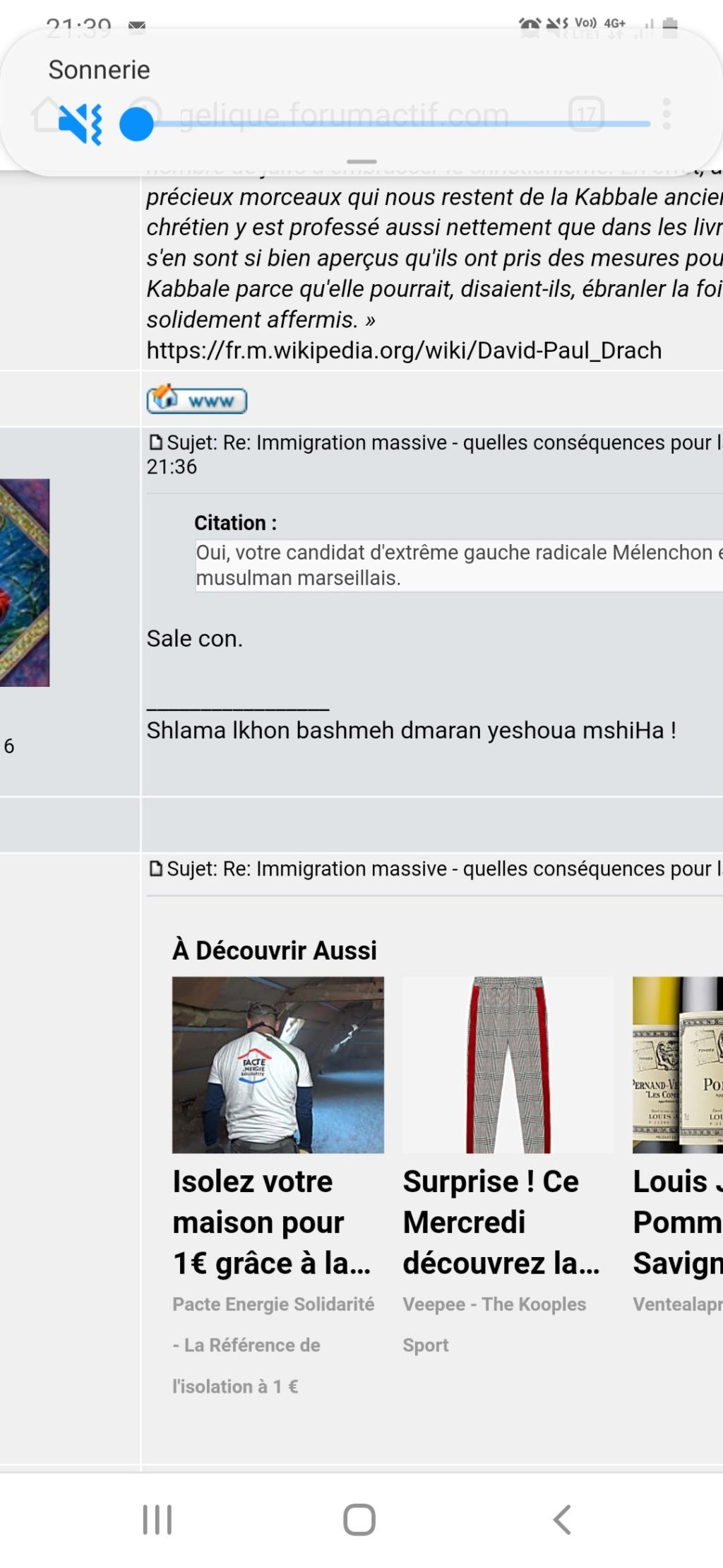 Immigration massive - quelles conséquences pour la France et l'Europe  ? - Page 3 Screen30