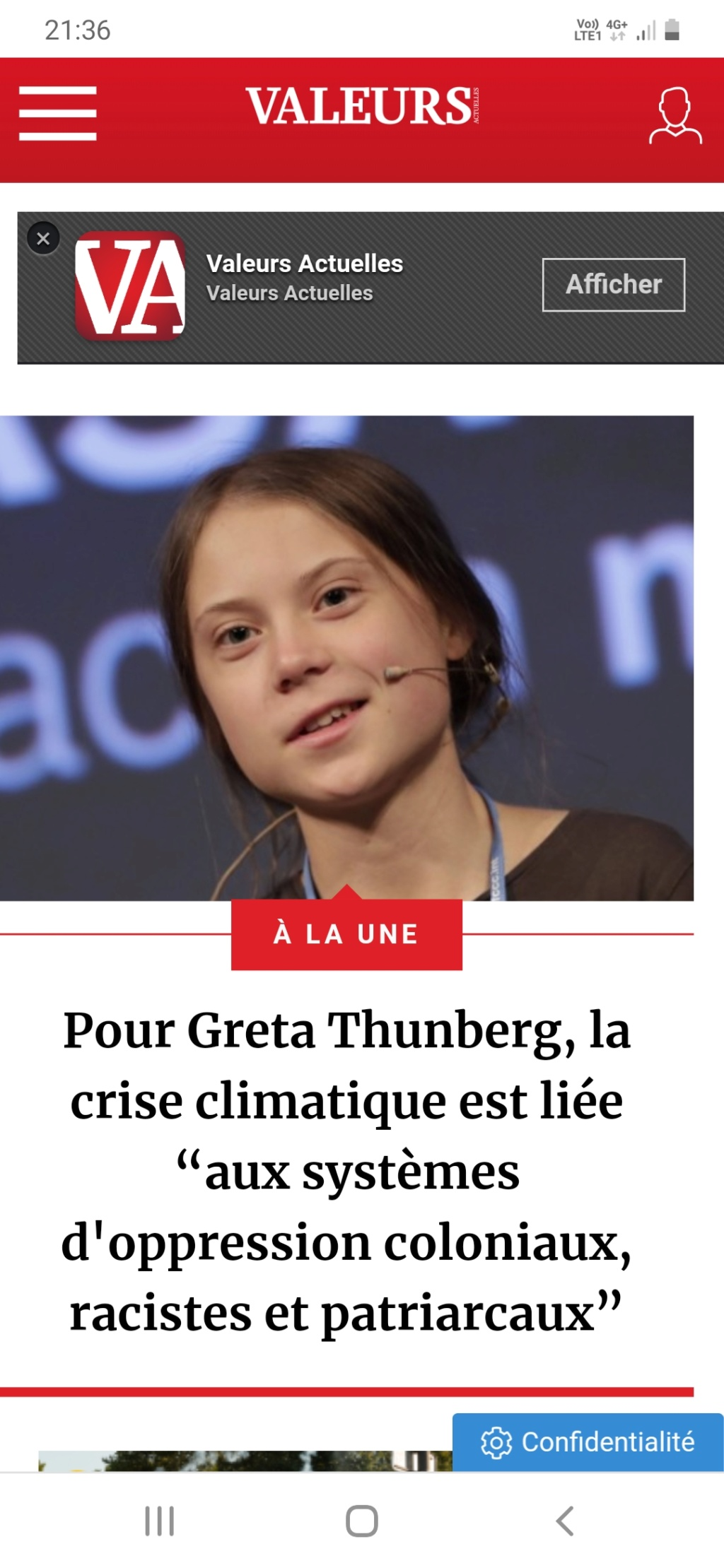 Greta Thunberg pourquoi tant de haine ? - Page 2 Screen35