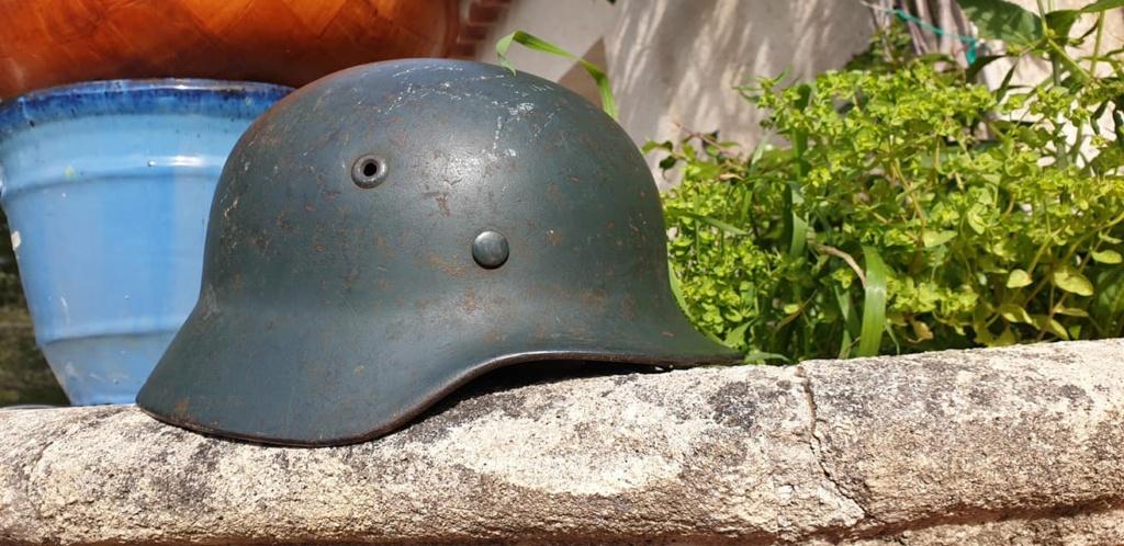 Casque allemand M40 kriegsmarine camo 12031310