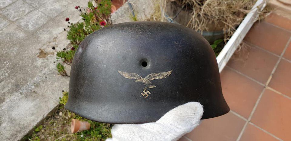 Coque de casque M38 fallshirmjäger 53747510