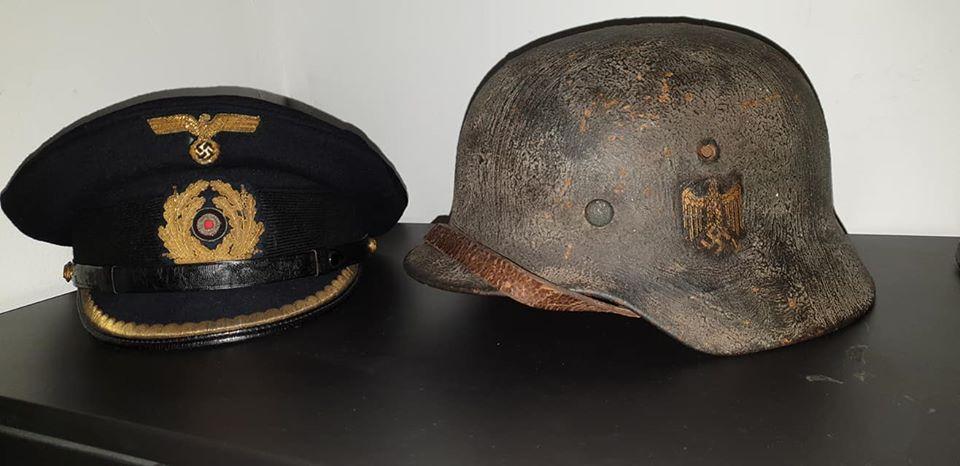 Casque et casquette kriegsmarine  94376310