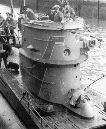 Calot 6ème U flotille  U-40410