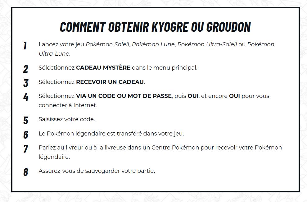 [Pokemon Legendary event de Nintendo] Kyogre et Groudon Disponibles chez Micromania du 3 au 25 août 2018 Kyogre10