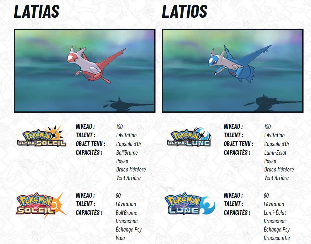 [Pokemon Legendary event de Nintendo] À l'honneur en septembre : Latias et Latios ! Latias10