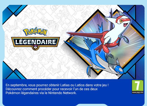 [Pokemon Legendary event de Nintendo] À l'honneur en septembre : Latias et Latios ! Septem10