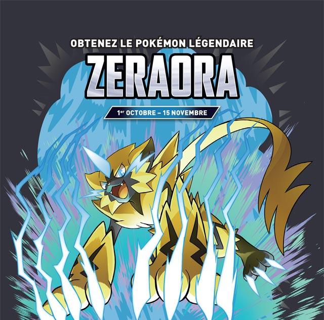 Obtenez un Zeraora en magasin Micromania !  Zeraor10