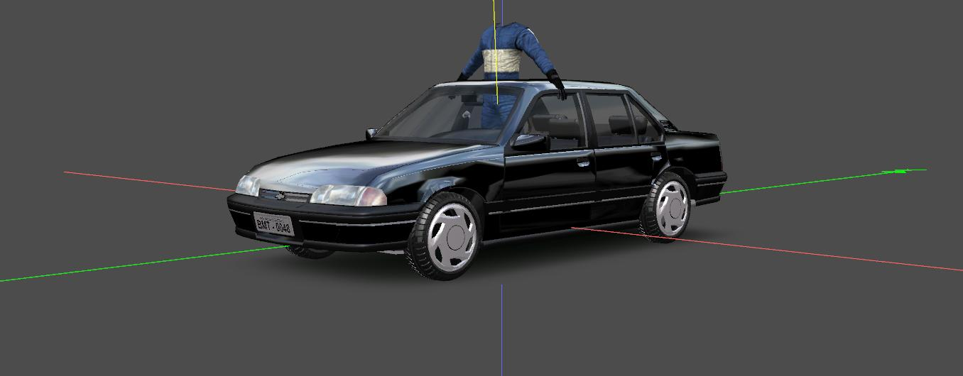 brazilian tourist cars 3dsim112