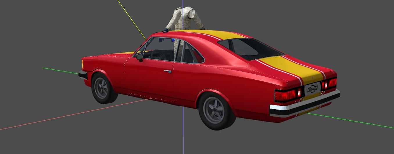 brazilian tourist cars 3dsim113