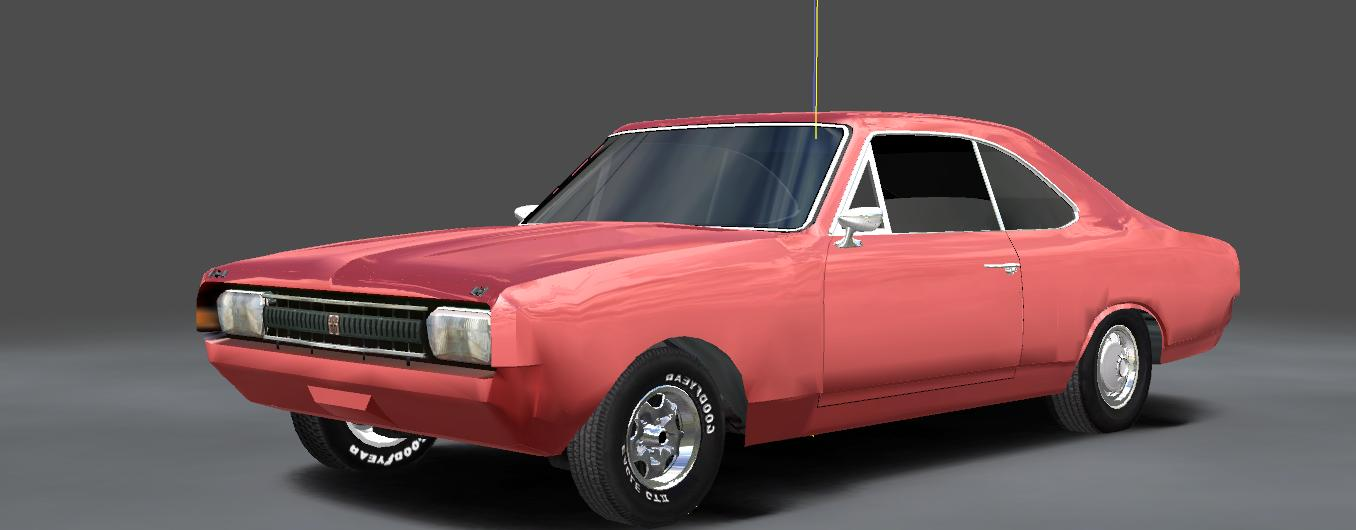 Opel Rekord C Coupe 3dsime72