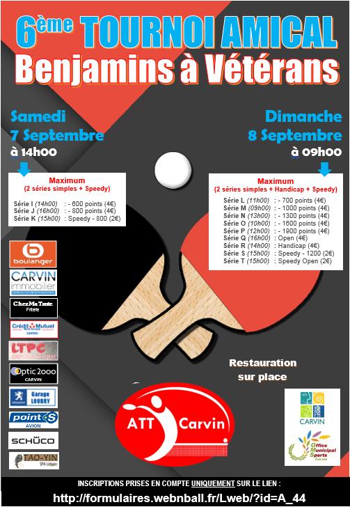 6ème tournoi amical de rentrée de l'ATT CARVIN des 7 et 8/09 Tourno11